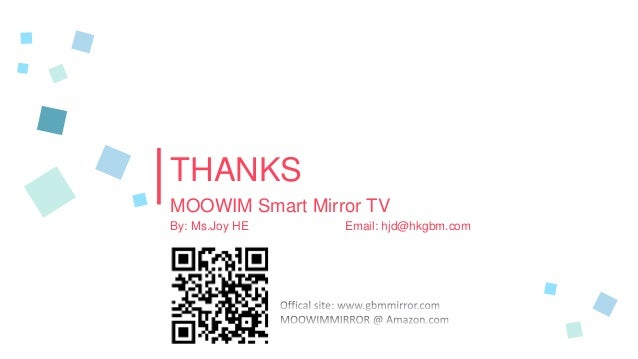 MOOWIM® Smart Mirror TV Android