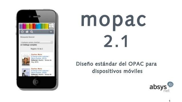 1 mopac 2.1 Diseño estándar del OPAC para dispositivos móviles