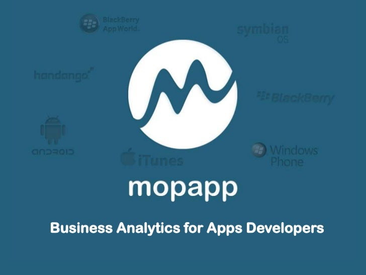 Business Analytics for Apps Developers