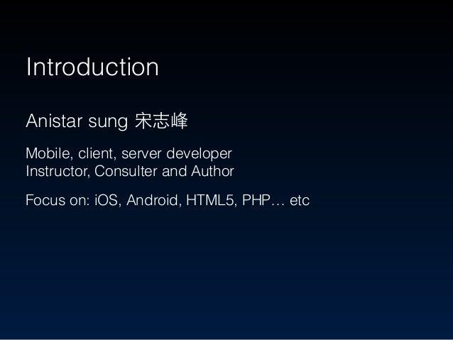 MOPCON 2014 - Best software architecture in app development Slide 2
