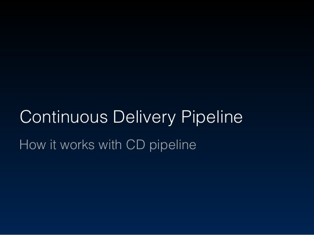 Automatic execute tasks to deliver production Continuous Delivery Pipeline Task A Task B Task C Release Commit Automation ...
