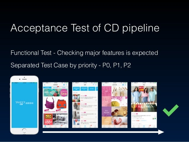 Acceptance Test of CD pipeline Given User launch the store app When User add a store on store page Then User can view stor...