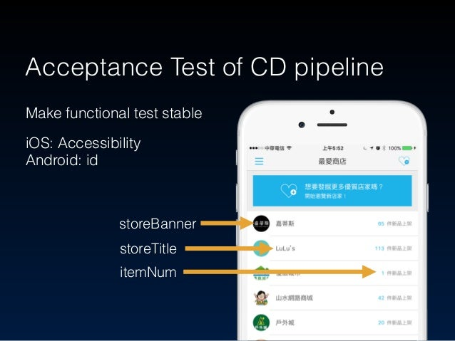 Stability test - Checking for App's stability Using Monkey Test to probe it Non-functional Test of CD pipeline