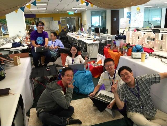 """請到 104 搜尋 """"Yahoo奇摩"""" MOPCON Yahoo 現場攤位 4F Welcome join us"""