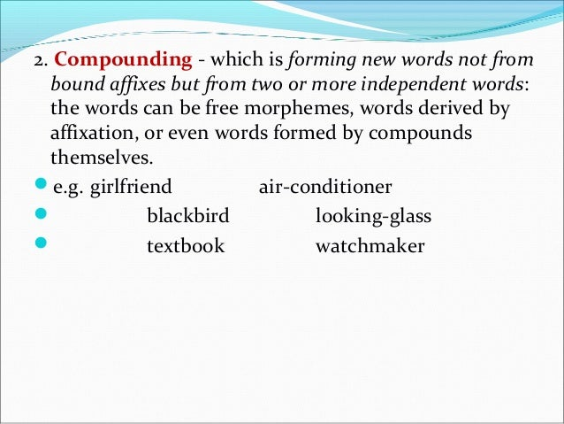 Compound words have different stress, as in the following examples: 1.The wool sweater gave the man a red neck. 2...