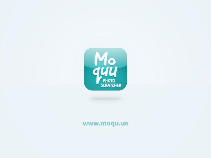 Moquu app design