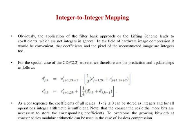 Wavelet Based Image Compression Using FPGA