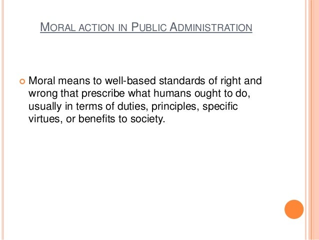 action moral