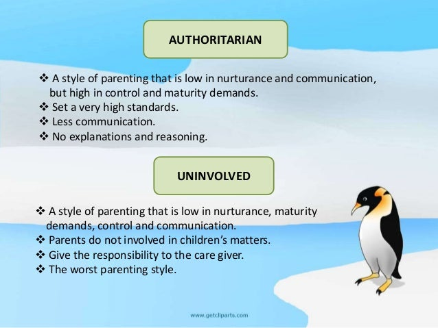 A case study of authoritarian parenting
