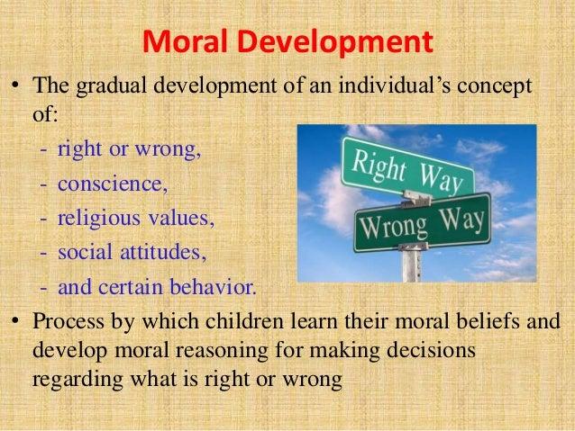 Moral development adults