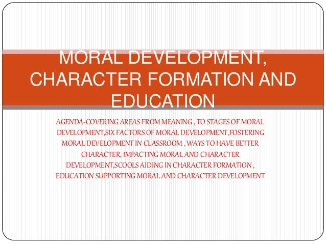 moral development in education Of kohlberg's theory of moral develop- ment in college moral education in main- land china open journal of social sciences  5, 151-160.