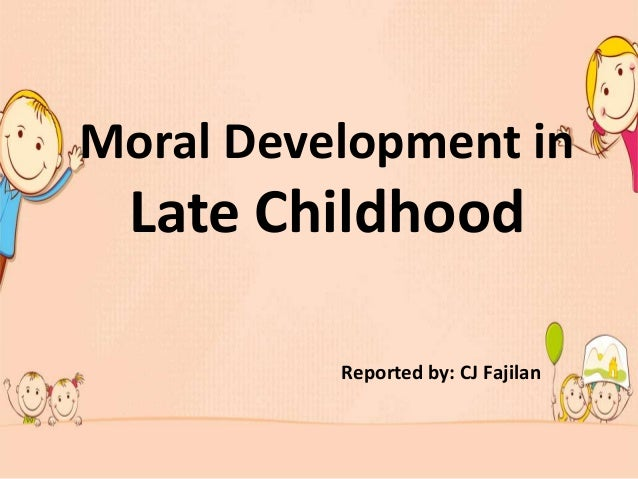 late childhood development essay All of these milestones can be significantly delayed when young children  more  than any other developmental periods, early and middle childhood sets the.