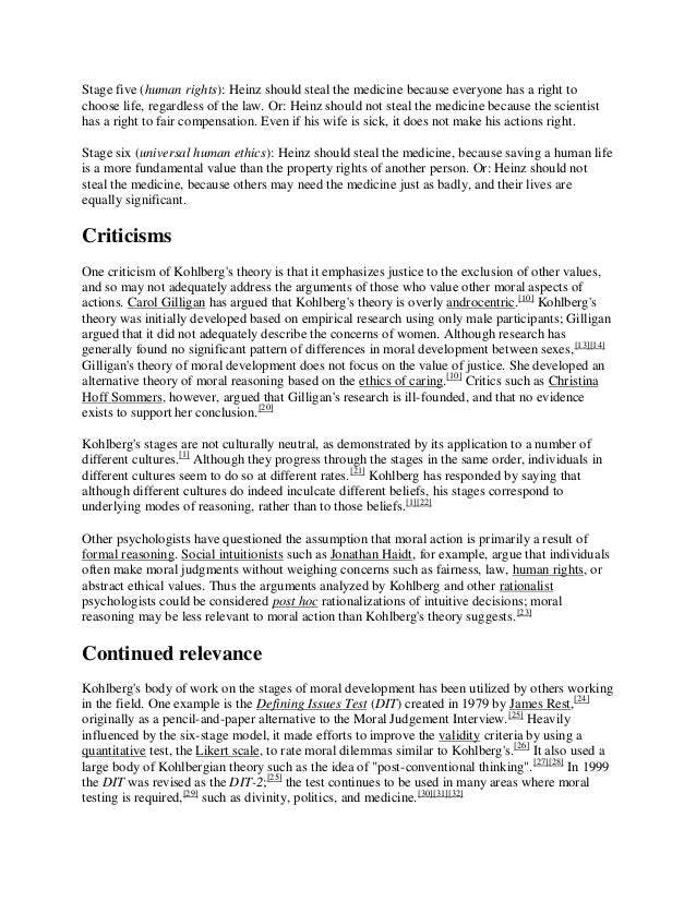 kohlberg 1981 essays on moral development