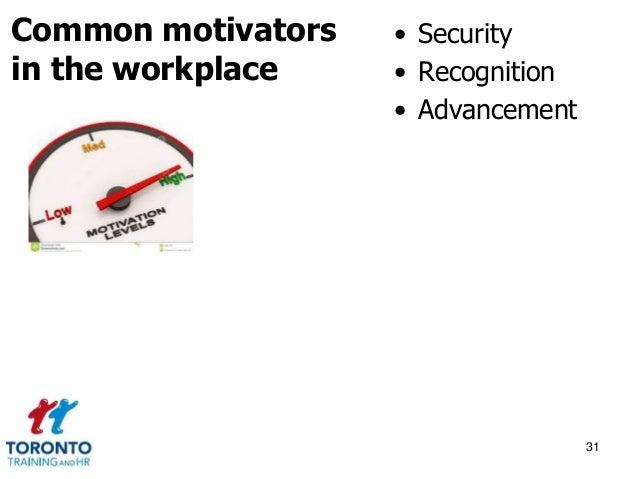 Morale and motivation September 2014