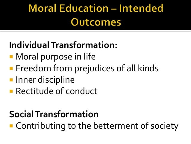 teaching moral values in schools The department for education has today (27 november 2014) published guidance on promoting british values in schools to ensure young people leave school prepared for life in modern britain.