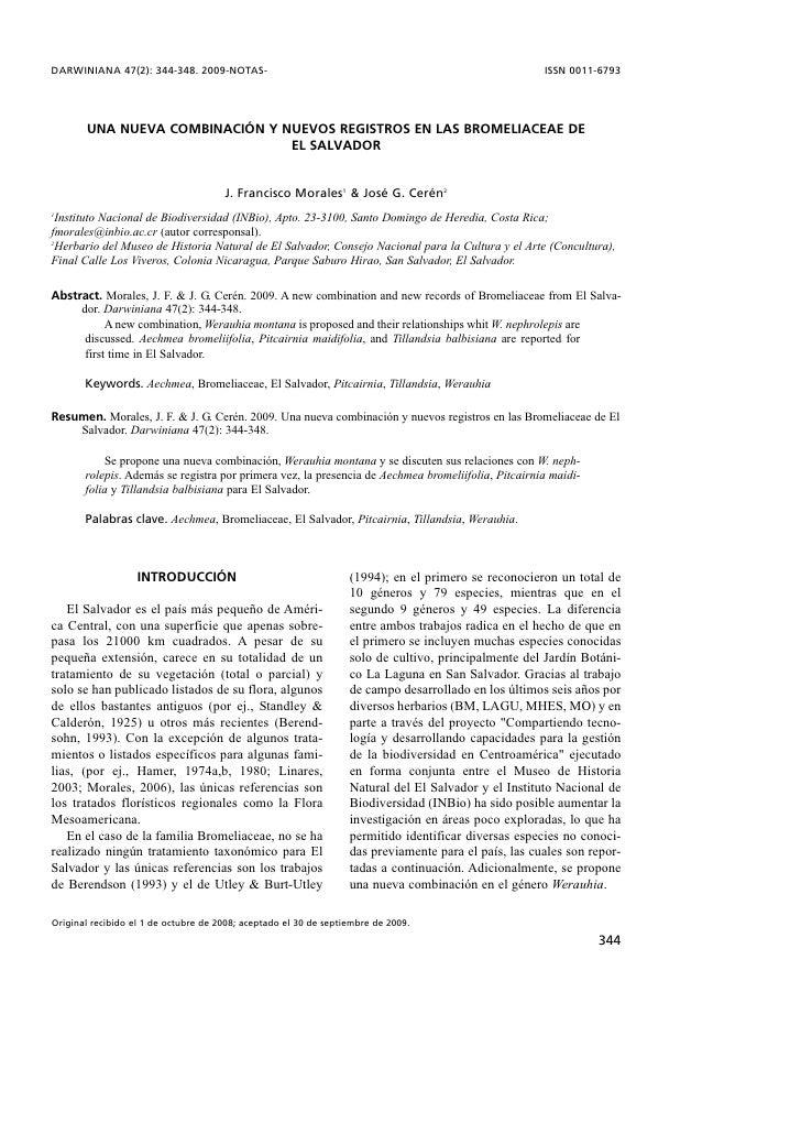 DARWINIANA 47(2): 344-348. 2009-NOTAS-                                                                ISSN 0011-6793      ...