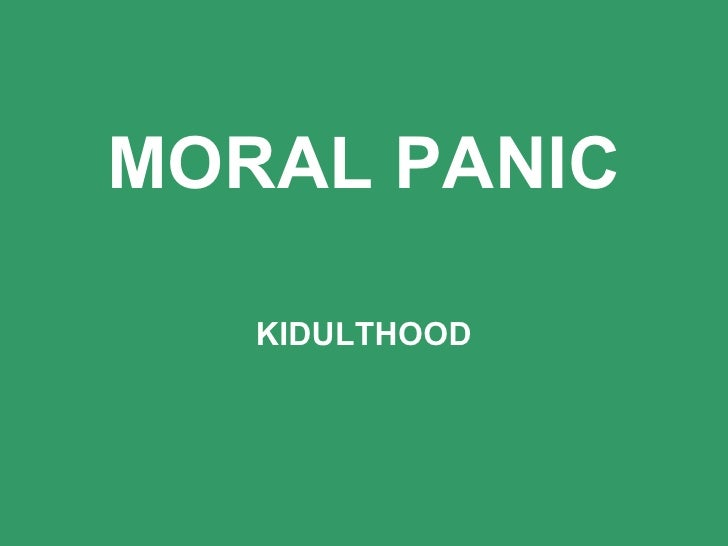 what are moral panics Moral panics are usually framed by the media and led by community leaders or groups intent on changing laws or practices a review on moral panic observes the difficulties in establishing the comparison between the scale of the problem and the scale of response to it.