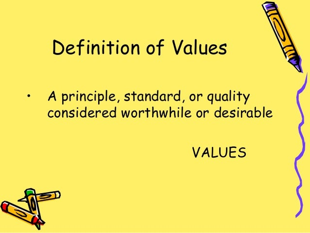 What Is the Definition of Human Values?