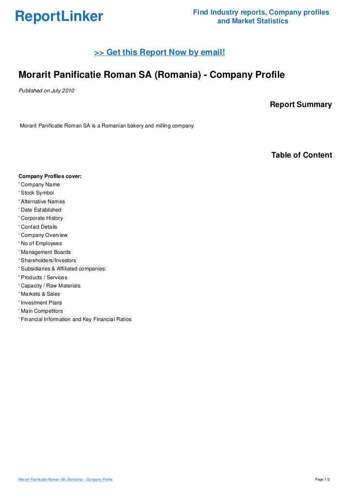 Find Industry reports, Company profilesReportLinker                                                                and Mar...