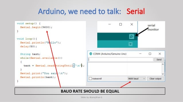 Arduino Programming for Basic Robotics - University of Moratuwa