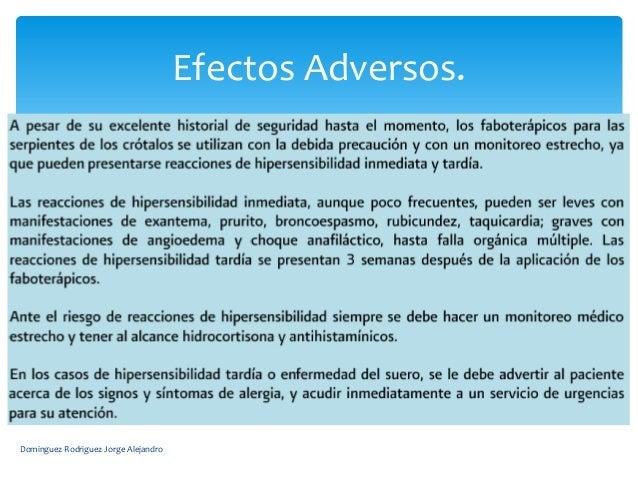 Efectos Adversos.Dominguez Rodriguez Jorge Alejandro