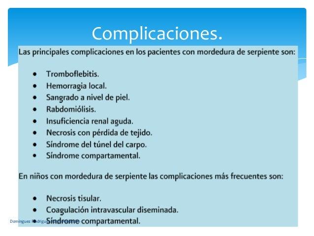 Complicaciones.Dominguez Rodriguez Jorge Alejandro