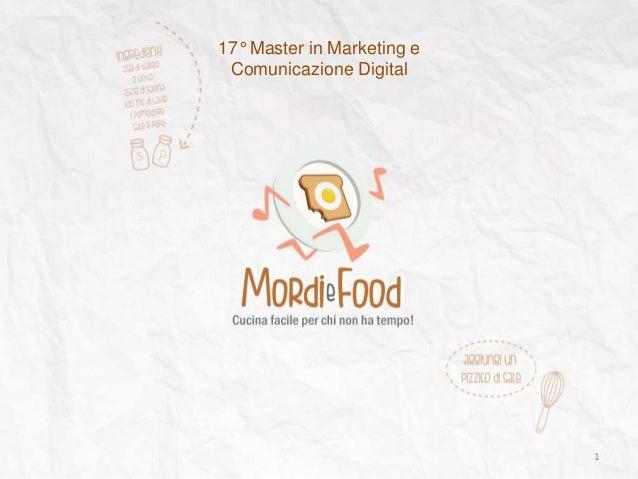 1 17° Master in Marketing e Comunicazione Digital