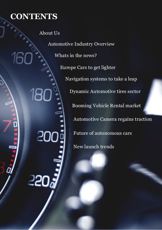 Automotive Sector Monitor Q2 Issue Slide 2