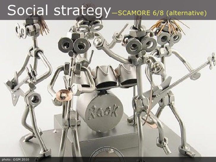 Social strategy—SCAMORE 6/8 (alternative)     photo: ©GM 2010