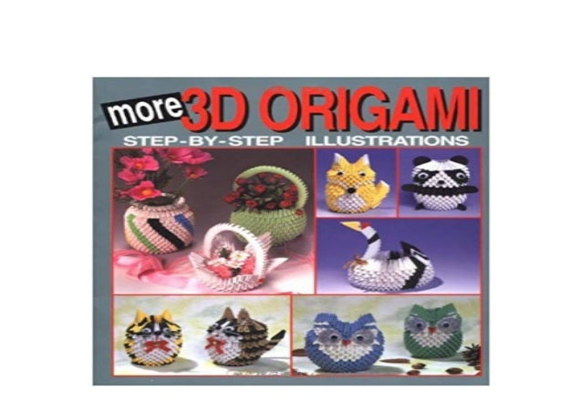 3d origami step by step illustrations pdf free