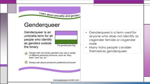 More about gender!