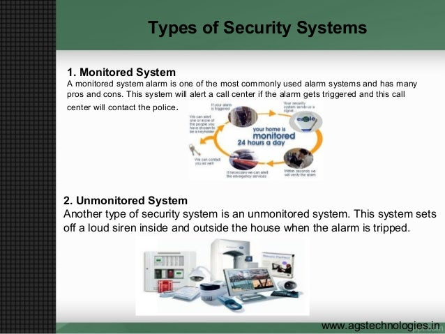 More About Home Security System