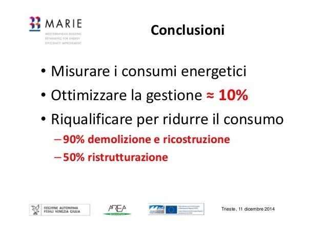 i consumi energetici degli edifici: valori di riferimento - fabio mor? - Consumi Casa Certificazioni A Trieste
