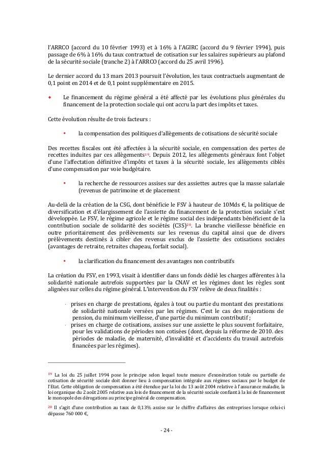 Le rapport moreau sur l 39 avenir des retraites en france - A quoi sert le plafond de la securite sociale ...