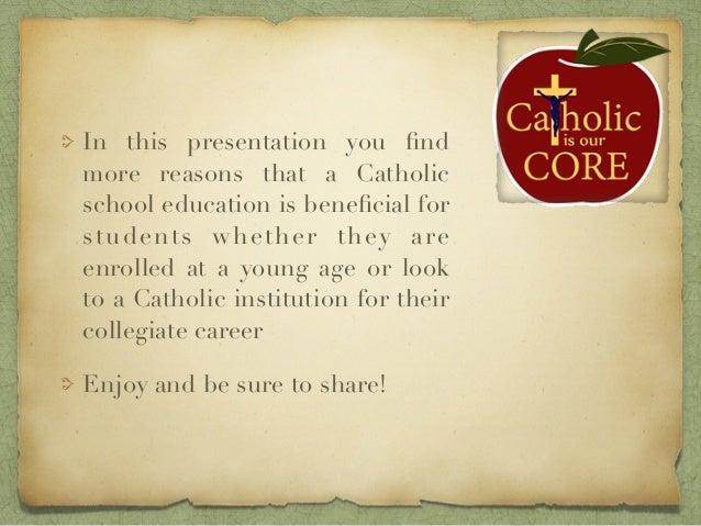 More Information on Catholic Education Slide 3