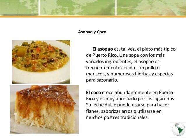 Comidas t picas de argentina puerto rico y paraguay - Nacionalidad de puerto rico en ingles ...