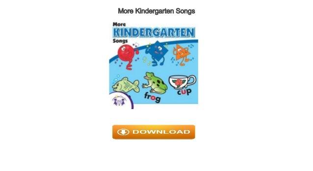 More kindergarten songs audiobook free   kids.