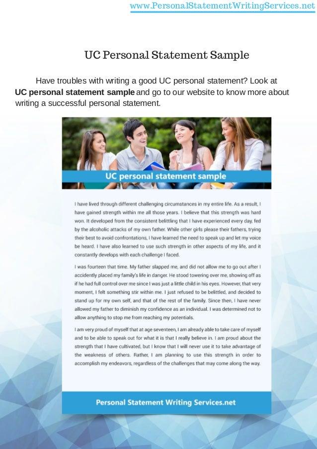 Uc personal statement writing service
