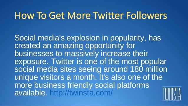 Twitter followers free and fast