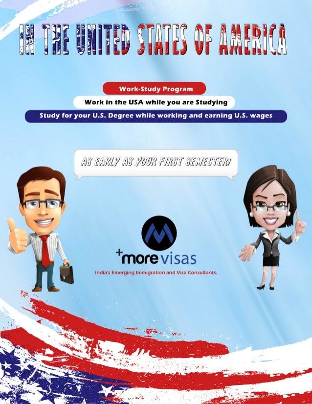USA Work Study Program - MoreVisas