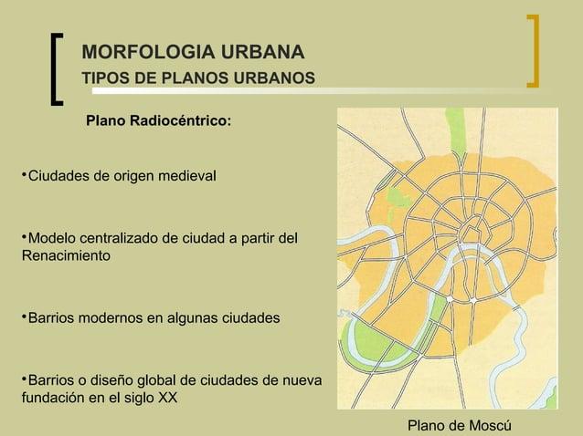  Ciudades de origen medieval  Modelo centralizado de ciudad a partir del Renacimiento  Barrios modernos en algunas ciud...