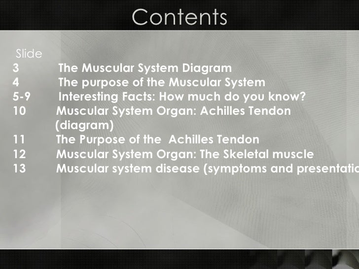 facts of the muscular system – citybeauty, Muscles