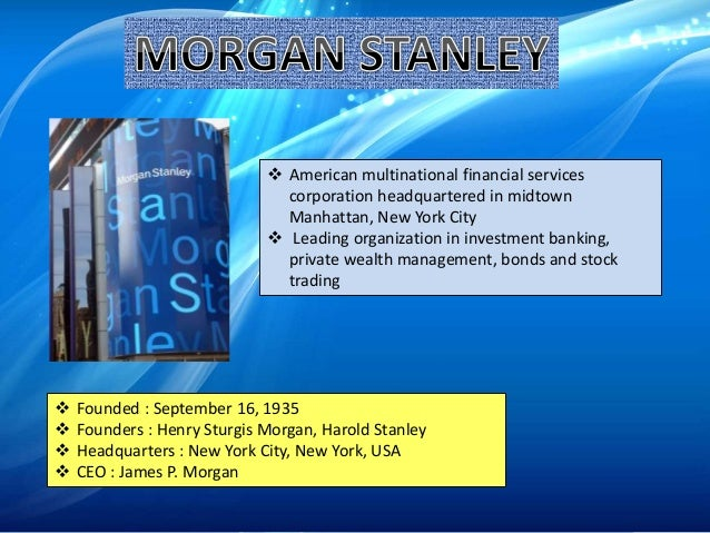 rob parson at morgan stanley 2 essay Rob parson at morgan stanley a case solution, this analysis basically provides an insight into the performance review and appraisal of one of order custom essay.