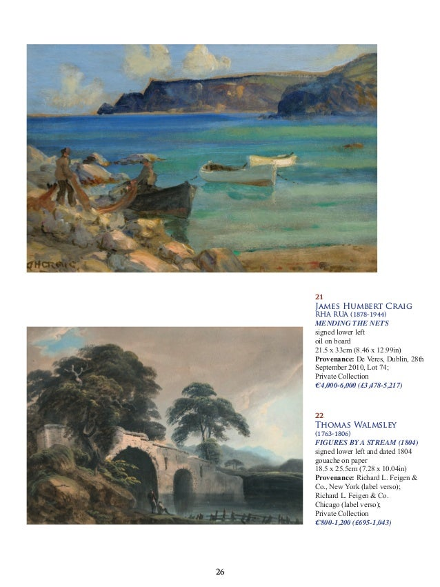 d856e899679 Morgan Odriscoll Irish   International Art Auction 30th April 2018