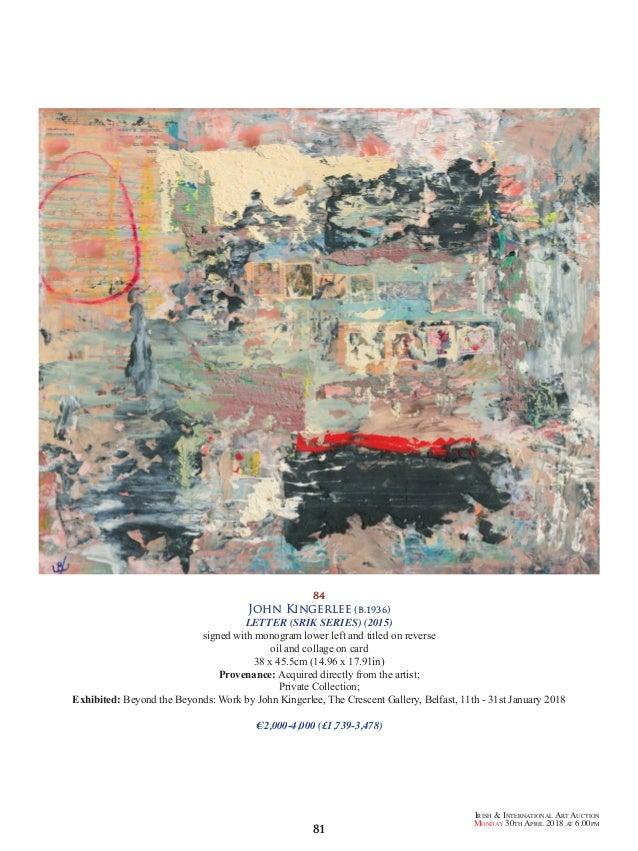 Hughie O'Donoghue (CV/Visual Arts Research)