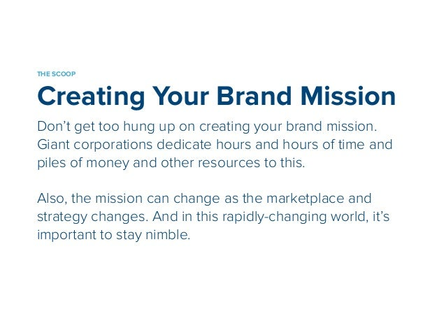 A TIME SAVING EXERCISE  Brand Pillars  The brand pillars rise from the foundation of your brand. It  is what makes your br...