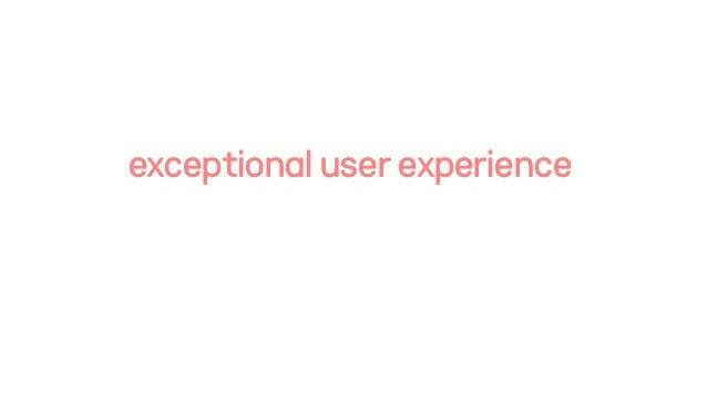 exceptionaluserexperience
