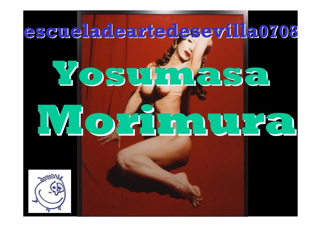 escueladeartedesevilla0708    Yosumasa  Morimura