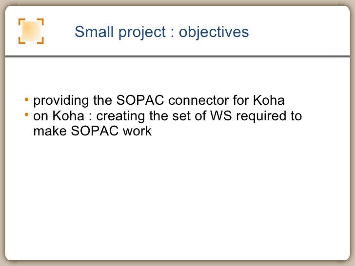 sopac : connecting koha and drupal Slide 3