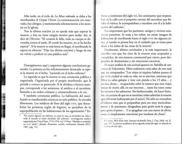 Philippe ari s morir en occidente pp 19 52 for Como se dice mesa en frances